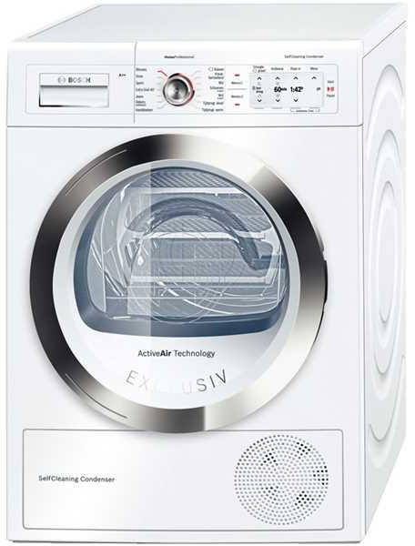 Bosch Exclusiv WTY87791NL