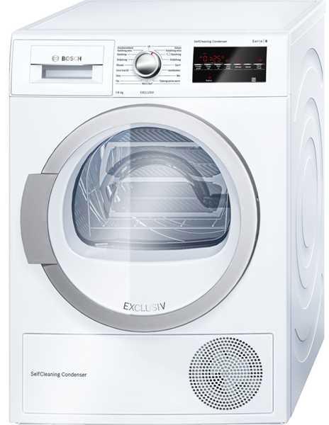 Bosch WTW85490NL